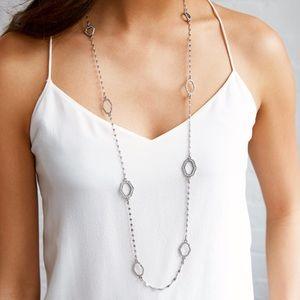 Modern mosaic necklace
